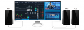 FlexScan EV3895 is EIZO's First UltraWide 1600p Curved Professional Monitor